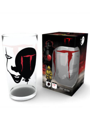 IT Pennywise Face Large Pint Glass 500ml