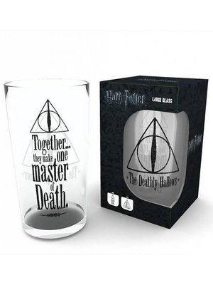 Harry Potter Deathly Hallows Large Pint Glass 500ml