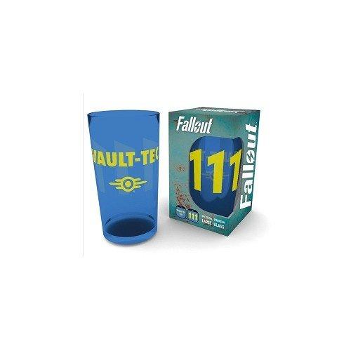 Fallout Vault 111 Premium Coloured Large Pint Glass 500ml