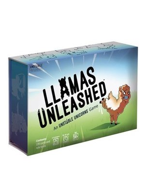 Llamas Unleashed Engels Card Game