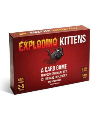 Exploding Kittens Kaartspel Original Edition (Engels)