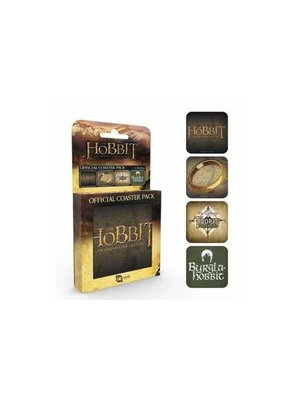 The Hobbit Official Coaster Pack (4) 90x90mm