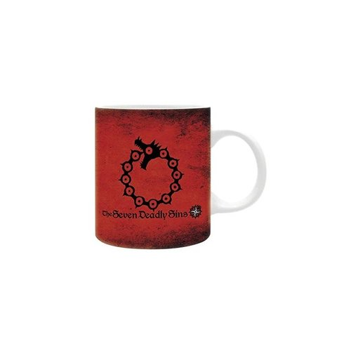 Seven Deadly Sins Mug 320ml Emblems
