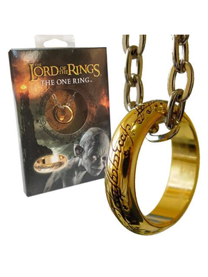 Lord of the Rings The One Ring Necklace Noble Collection