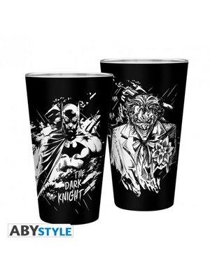 DC Comics Batman & Joker Large Pint Glass 500ml