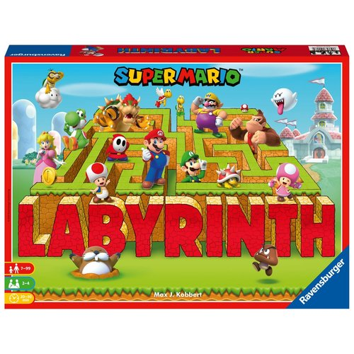 Super Mario Labyrinth Boardgame Ravensburger