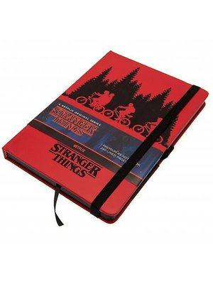 Stranger Things Upside Down Premium Notebook A5