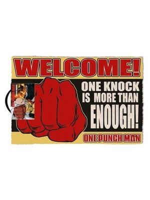 One Punch Man Knock Doormat 60x40 PVC met Kokosvezels