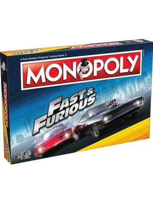 Usapoly Monopoly Fast & Furious