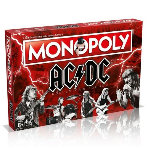 Usapoly Monopoly AC/DC Collectors Edition