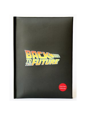 Back to the Future Light Up Notebook