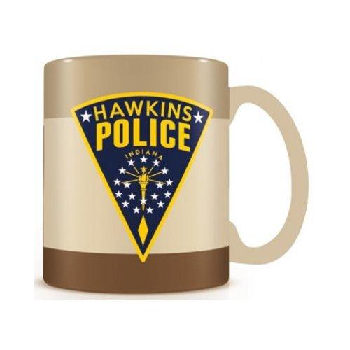 Stranger Things Hawkins Police Mug 315ml