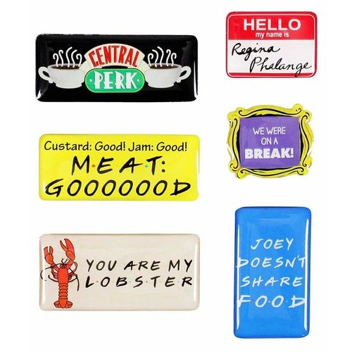 Friends Quotes Epoxy Magnets (set of 6)