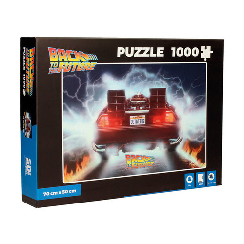 Back to the Future Puzzle Delorean Out of Time 1000pcs