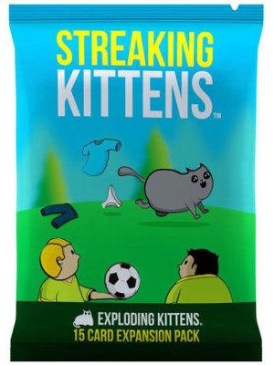 Streaking Kittens Expansion Pack for Exploding Kittens