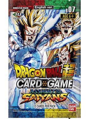 Dragon Ball SCG S7 Assault of the Saiyans Booster Pack