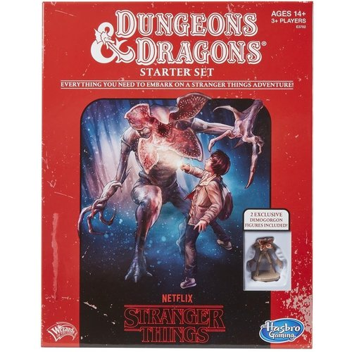 Wizards of The Coast Dungeons & Dragons Stranger Things Starter Set D&D Board Game