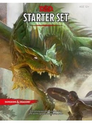 Wizards of The Coast Dungeons & Dragons Starter Set D&D Board Game
