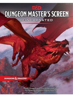Dungeons & Dragons Dungeon Masters Screen Reincarnated D&D