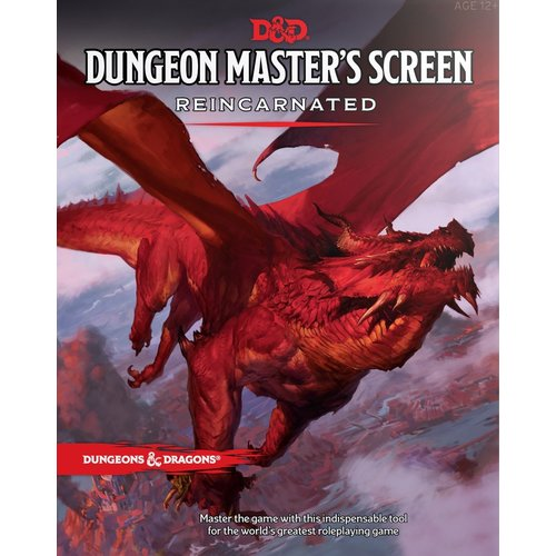 Wizards of The Coast Dungeons & Dragons Dungeon Masters Screen Reincarnated D&D