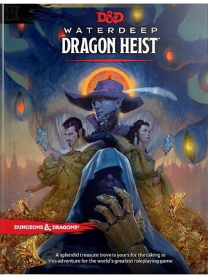 Wizards of The Coast Dungeons & Dragons Water Deep Dragon Heist D&D