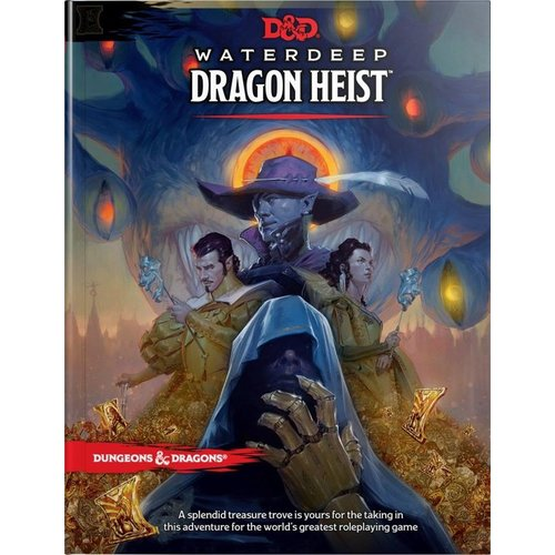 Dungeons & Dragons Water Deep Dragon Heist D&D