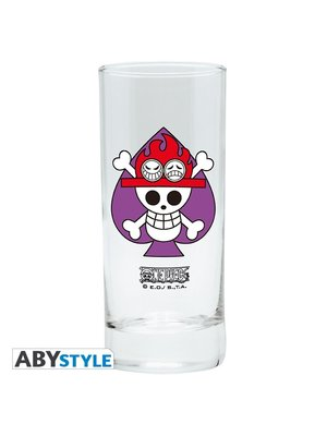 One Piece Ace Glass