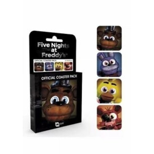 Five Nights At Freddys Coaster Set 4 Pack Onderzetters