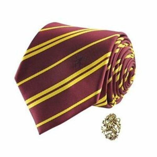 Harry Potter Gryffindor Necktie + Pin Box Set