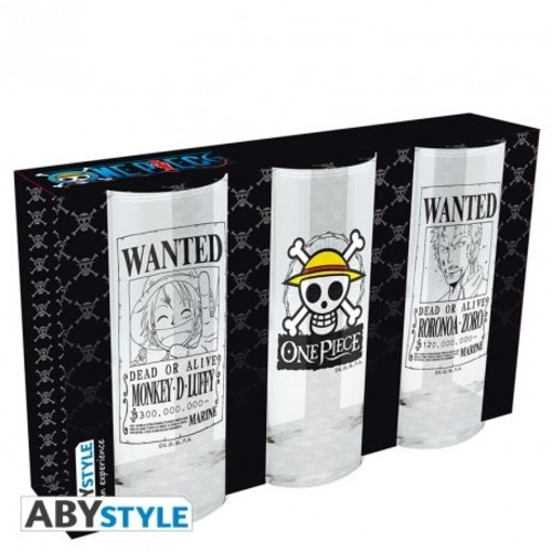 One Piece Glass (3 Pack)