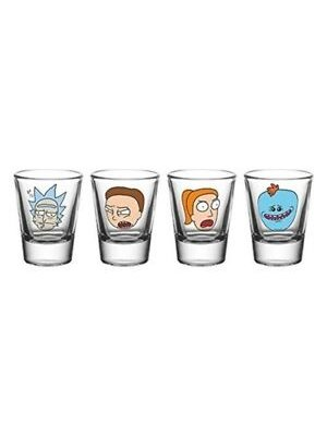 Rick and Morty Shot Glasses (4)