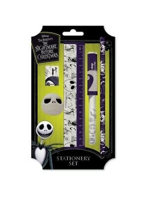 Nightmare Before Christmas Premium Stationary Set Spiral Hill