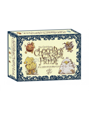 Final Fantasy Chocobos Crystal Hunt Playing Cards