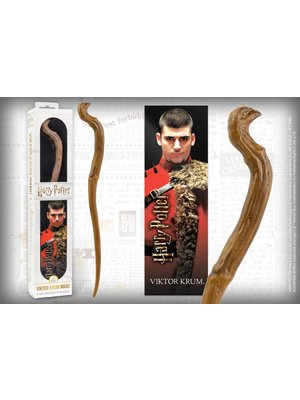 Harry Potter Viktor Krum PVC Wand 30cm + 3D Bookmark Noble Collection