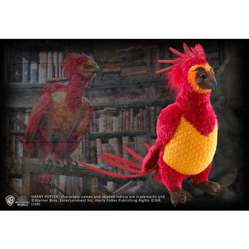 Harry Potter Fawkes 27cm Pluche Noble Collection