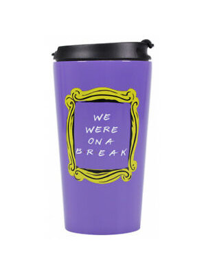 Friends We Were On A Break Metal Travel Mug