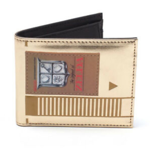 Zelda Gold Game Cartridge Bifold Wallet