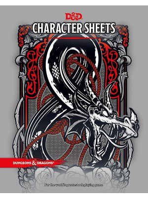 Dungeons & Dragons Character Sheets 2017 D&D