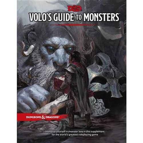 Dungeons & Dragons Volos Guide to Monster Manual D&D