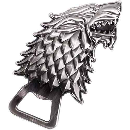 Game Of Thrones Stark Sculpted Bottle Opener with Magnets