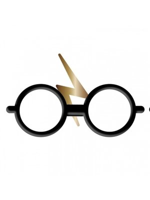 Harry Potter Pin Badge Enamel Glasses and Scar