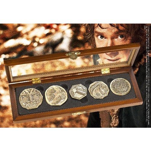 The Hobbit Dwarven Treasure Coin Set Noble Collection
