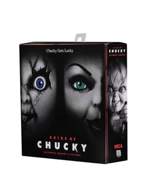 NECA Childs Play Ultimate Chucky and Tiffany Action Figure Pack 7inch NECA