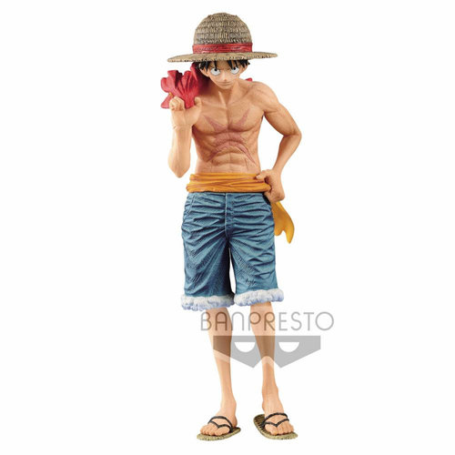 One Piece Magazine Figure Vol 2 Monkey D. Luffy 22cm BanPresto