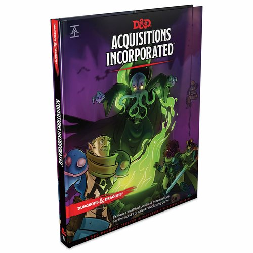 Dungeons & Dragons 5.0 Acquisitions Incorporated D&D TRPG