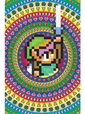 The Legends of zelda Collectables Poster 60x91.5cm