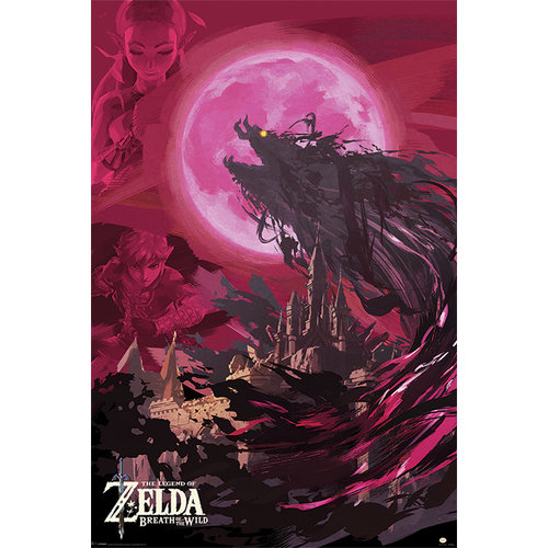 The Legend of Zelda Breath Of the Wild Poster 61x91.5