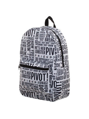 Friends All Over Quotes Backpack 43cm