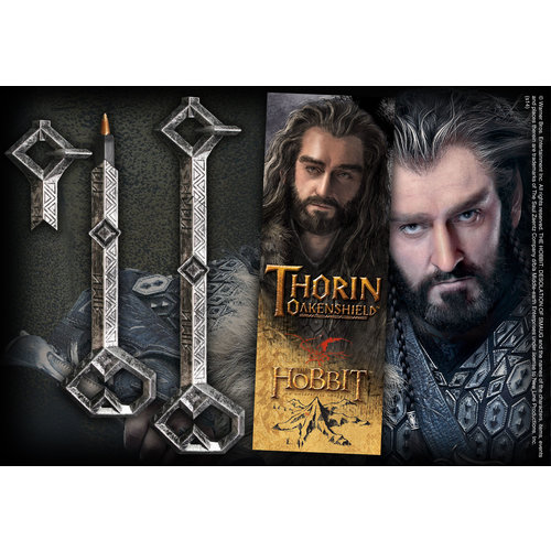 The Hobbit Thorin Key Pen + Bookmark Noble Collection