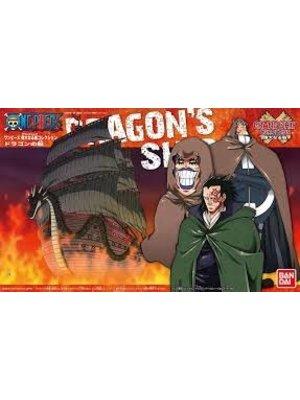 Bandai One Piece Model Kit Ship Monkey D. Dragon 15cm